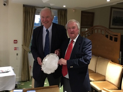 Past President Bill Oliver wins PSC Spring Golf Invitation at Enville GC